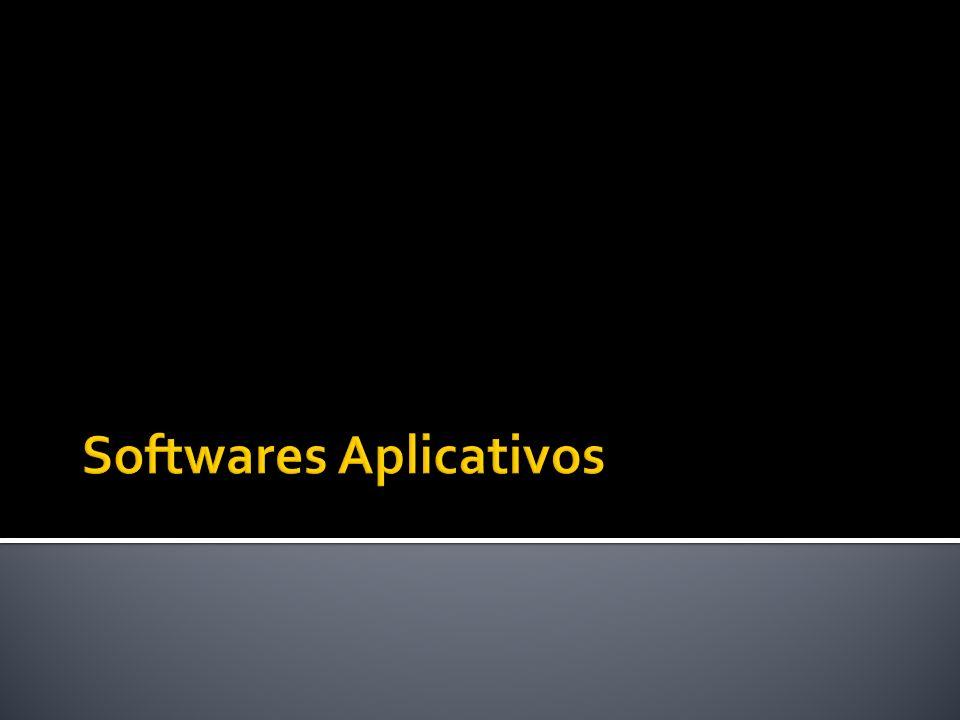 Software aplicativo (ou aplicativo ou ainda aplicação) é um programa de computador que tem por objetivo o desempenho de tarefas práticas, em geral ligadas ao processamento de dados, como o trabalho em escritório ou empresarial.