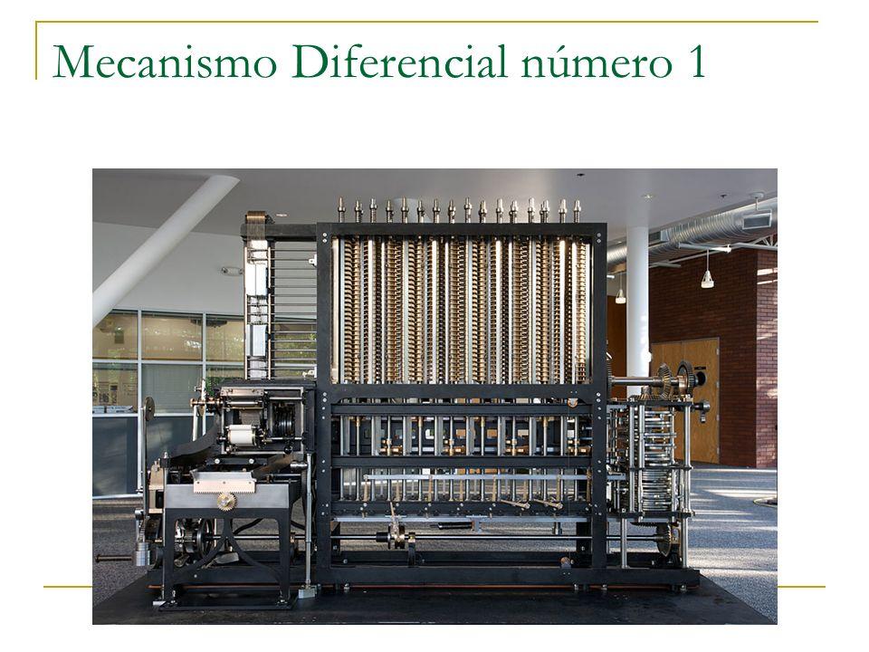 Mecanismo Diferencial número 1
