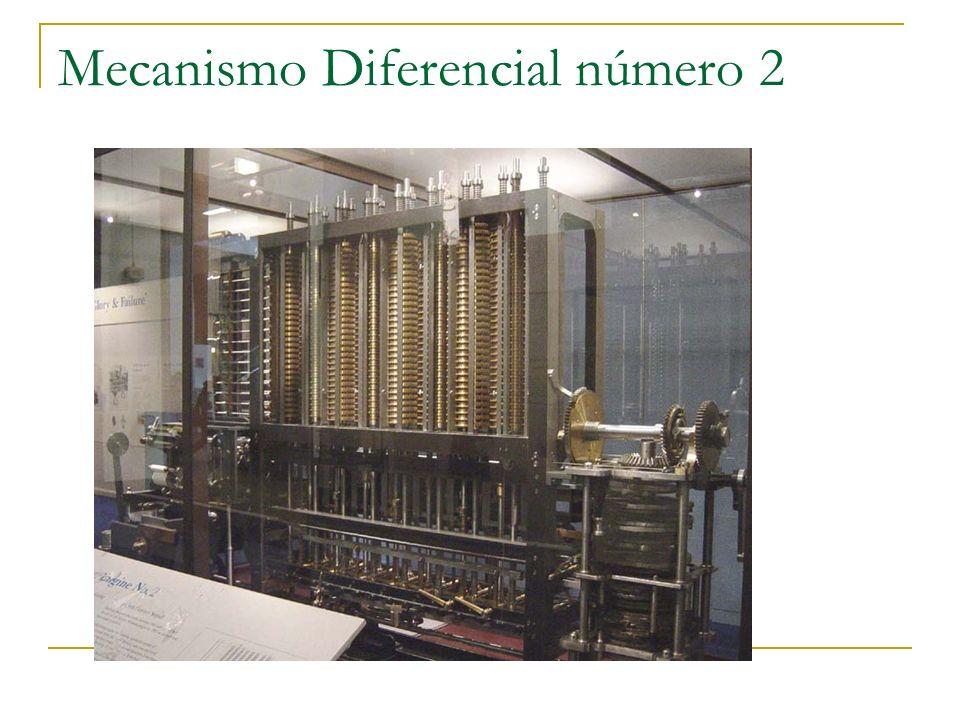Mecanismo Diferencial número 2