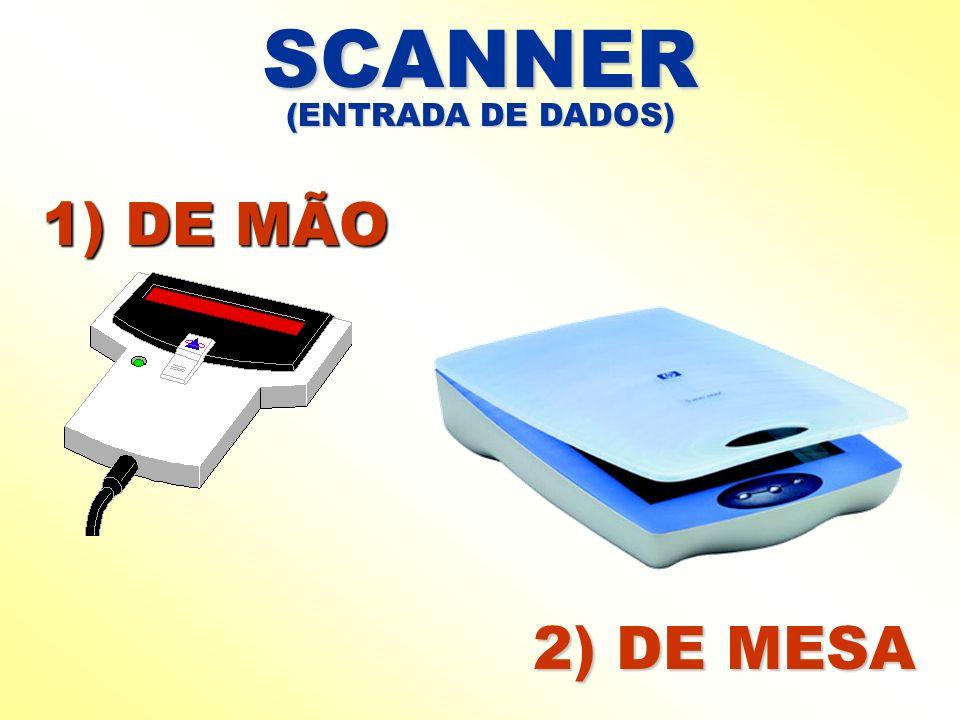 SCANNER 2) DE MESA 1) DE MÃO