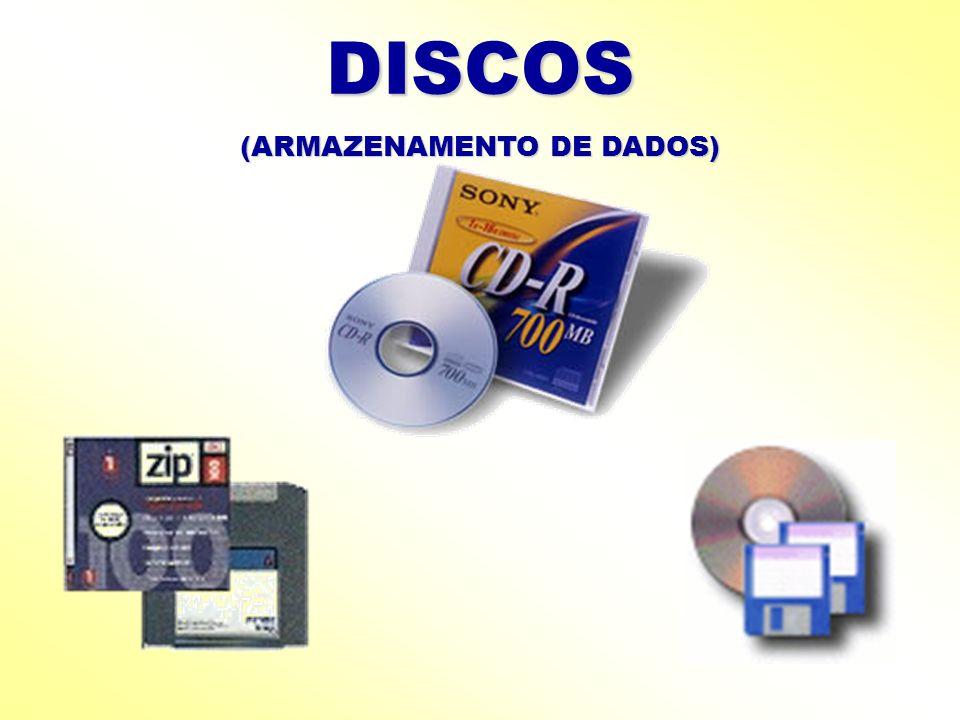 DISCOS (ARMAZENAMENTO DE DADOS)
