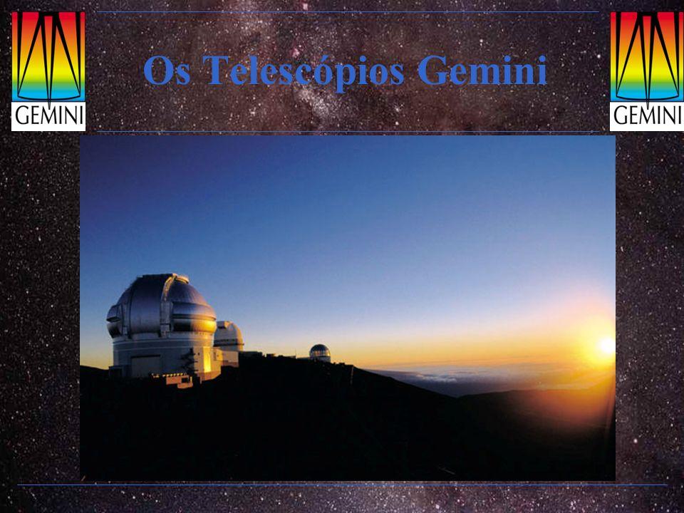 Instrumentos: MICHELLE Imageador e espectrógrafo infravermelho médio: 8 a 25 µm Especial para detectar poeira morna em discos proto-planetários e regiões de formação estelar.