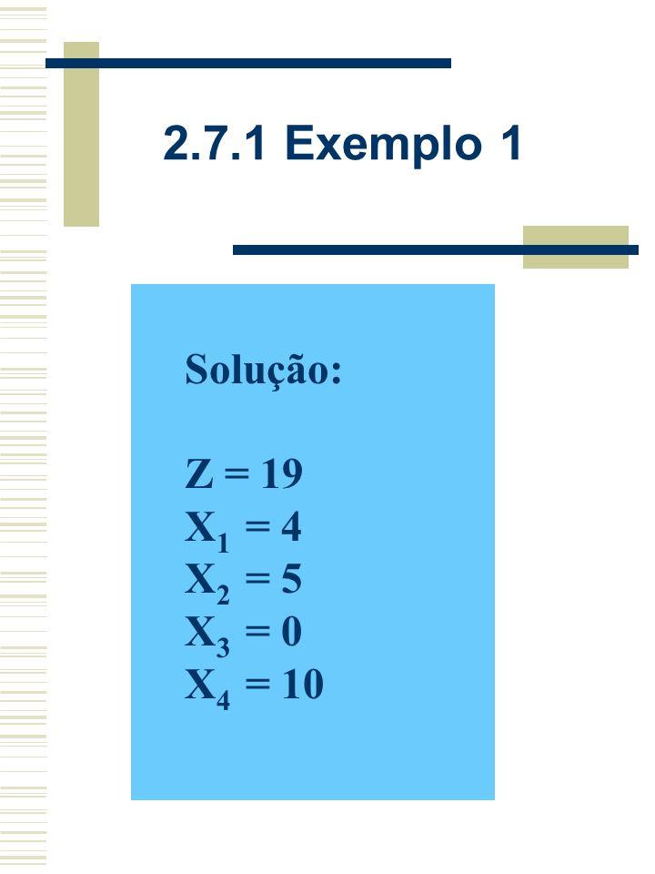 2.7.1 Exemplo 1 – Fase Z VBX1X1 X2X2 X3X3 X4X4 bibi X4X4 001110 X1X1 101/504 X2X2 01 05 Z001019