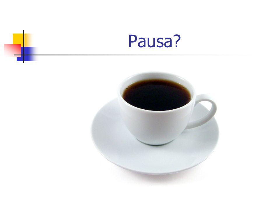 Pausa?