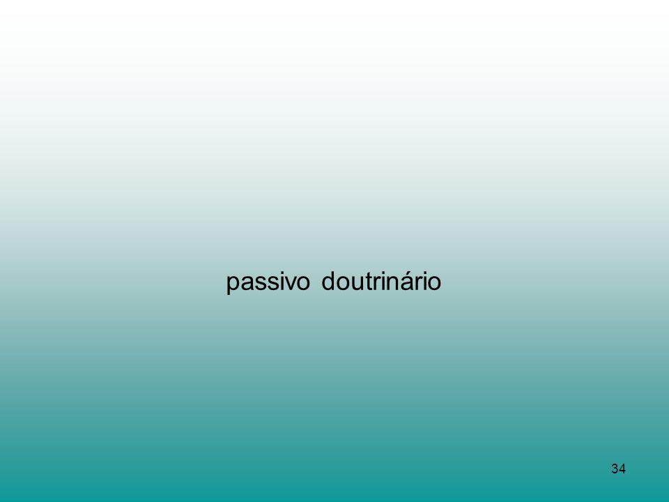 34 passivo doutrinário