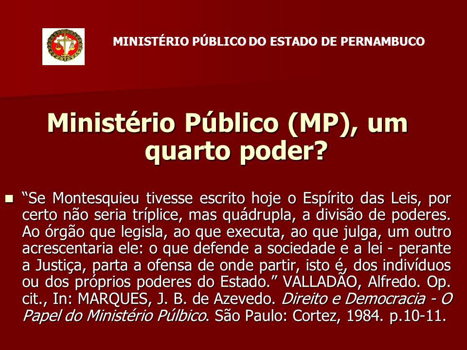 Ministério Público (MP), um quarto poder.