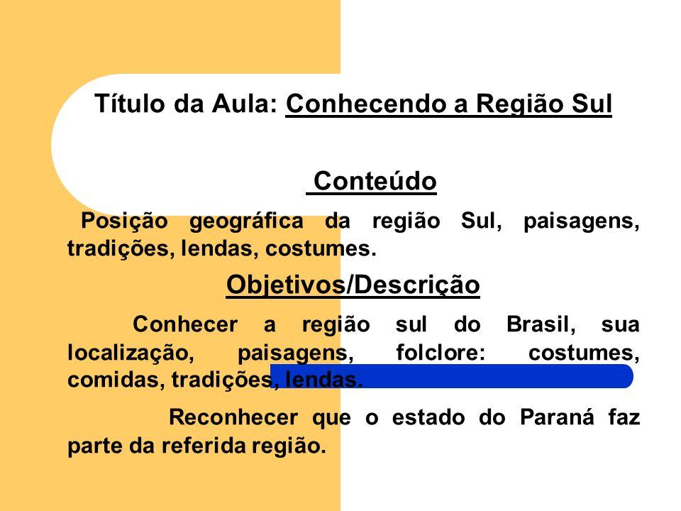 ESCOLA MUNICIPAL ALTAIR F. DA SILVA ZIZO REGIÃO SUL Profª. Claudia, Helena e Marise série: 4ª