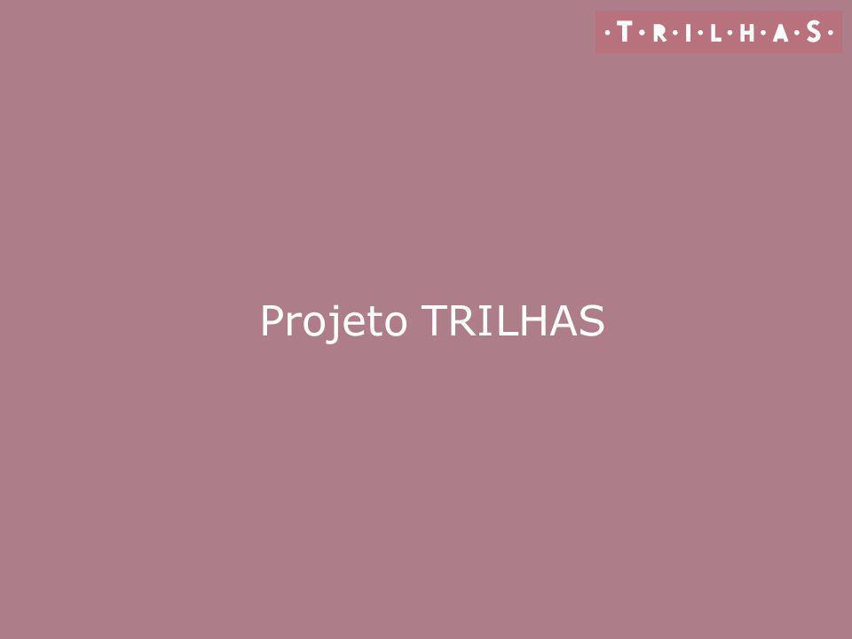 O que é o Projeto TRILHAS É um conjunto de materiais elaborado para instrumentalizar e apoiar o trabalho docente no campo da leitura, escrita e oralidade.