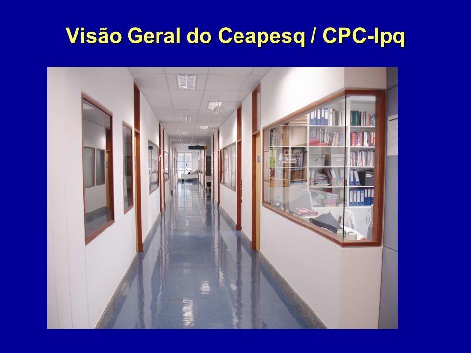 Visão Geral do Ceapesq / CPC-Ipq