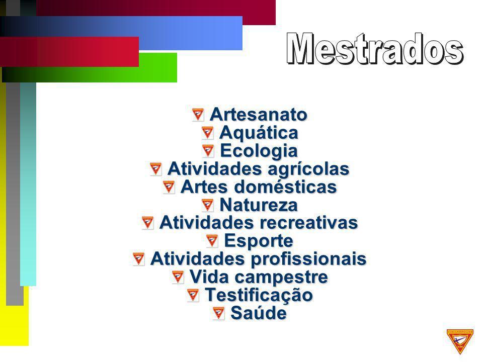 ArtesanatoAquáticaEcologia Atividades agrícolas Artes domésticas Natureza Atividades recreativas Esporte Atividades profissionais Vida campestre TestificaçãoSaúde