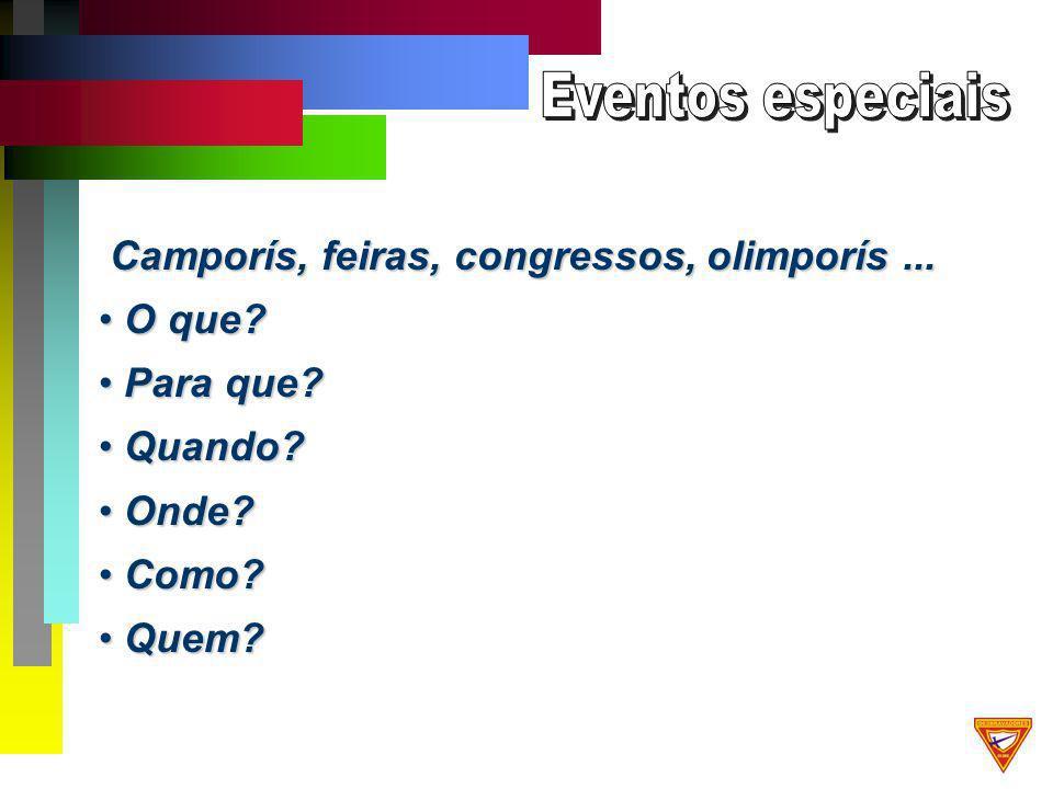 Camporís, feiras, congressos, olimporís... Camporís, feiras, congressos, olimporís...