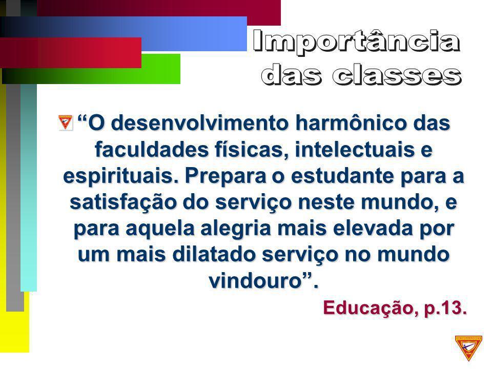 O desenvolvimento harmônico das faculdades físicas, intelectuais e espirituais.