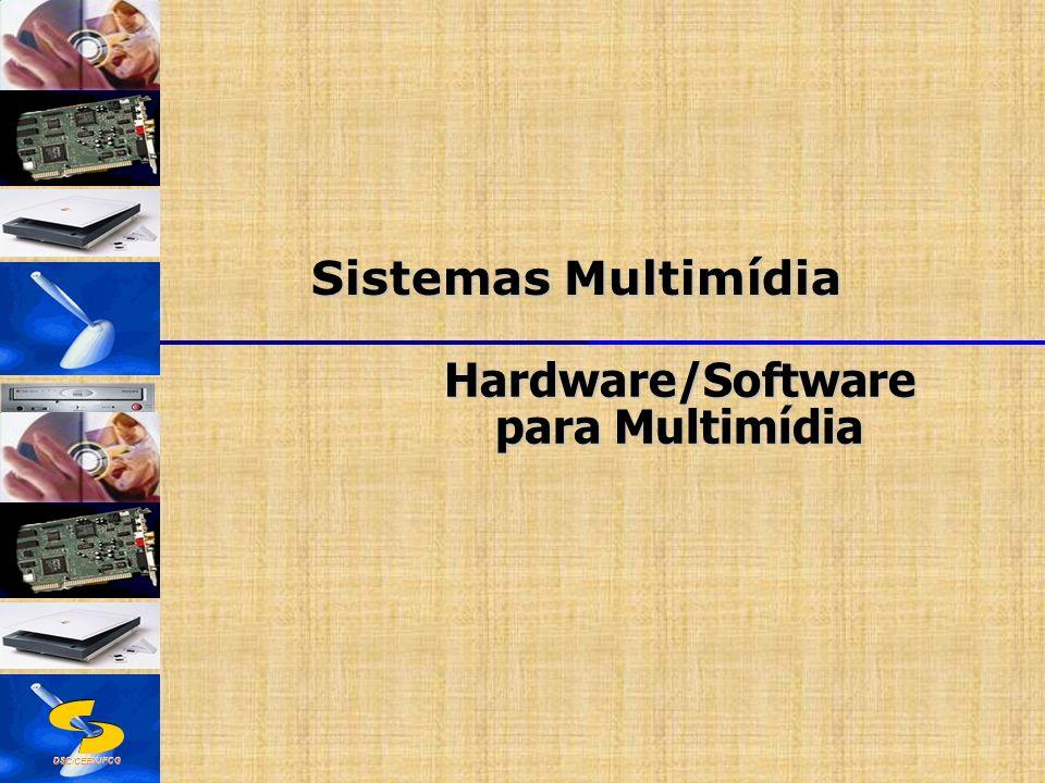 DSC/CEEI/UFCG Sistemas Multimídia Hardware/Software para Multimídia