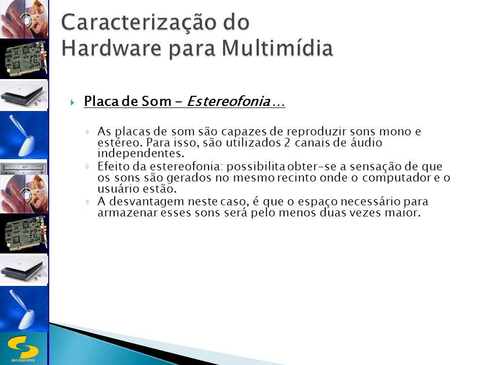 DSC/CEEI/UFCG Placa de Som - Estereofonia...