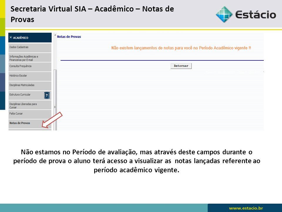 Secretaria Virtual S I A - Renovação de Matricula Através do link de Renovação de Matricula, o aluno terá acesso a renovar sua matricula no sistema e montar sua grade de disciplina.