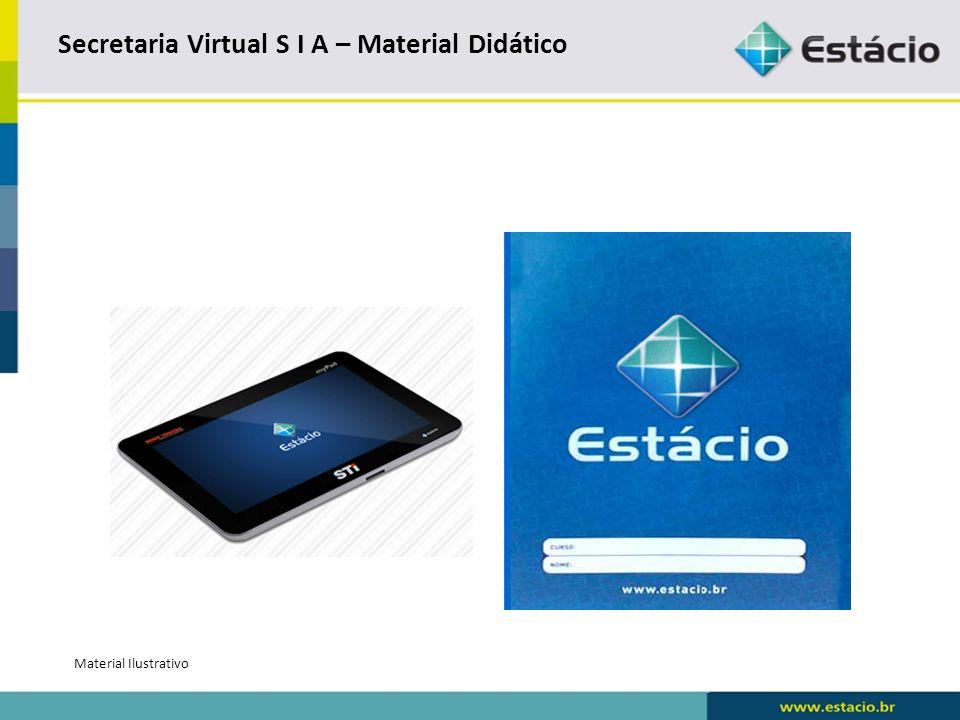 Secretaria Virtual – Material Didático - Consulta