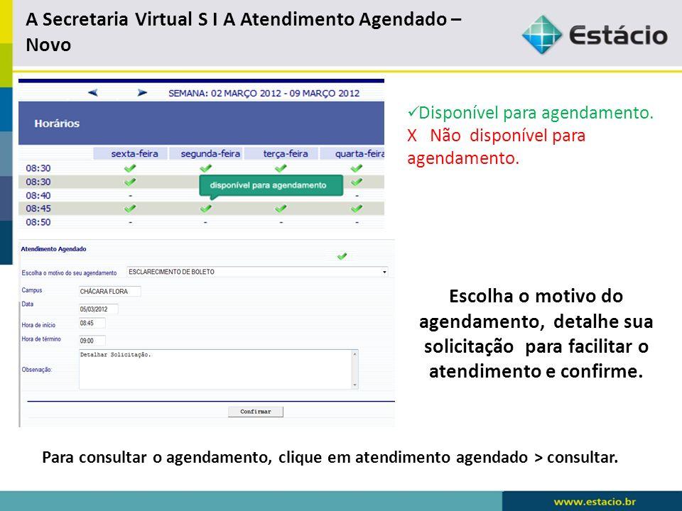Secretaria Virtual S I A - Financeiro Simulador de Negociação Consultar Proposta de Negociação Informações Financeira