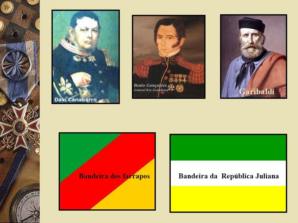 Garibaldi Bandeira dos farraposBandeira da República Juliana