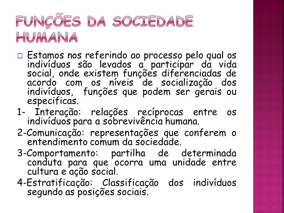 1- Renovação dos membros: integração de novos indivíduos por meio de parentesco ou do casamento.