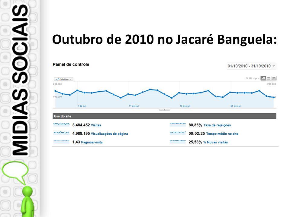 Outubro de 2010 no Jacaré Banguela: