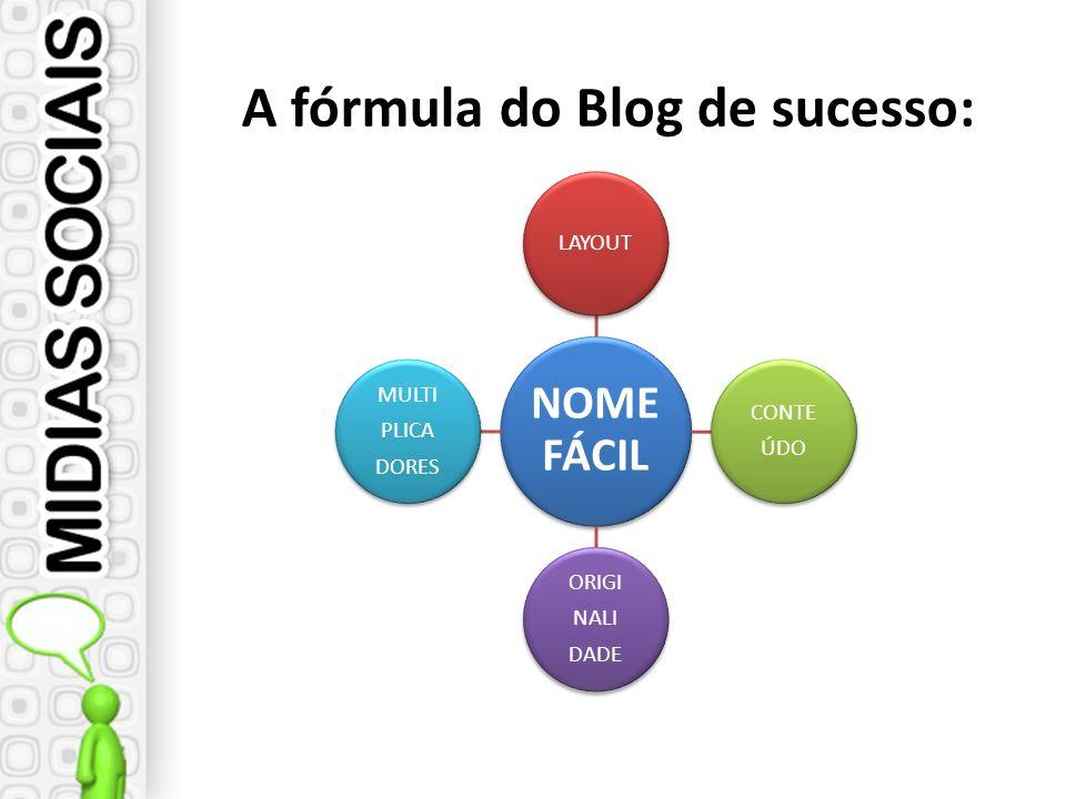 NOME FÁCIL LAYOUT CONTE ÚDO ORIGI NALI DADE MULTI PLICA DORES A fórmula do Blog de sucesso: