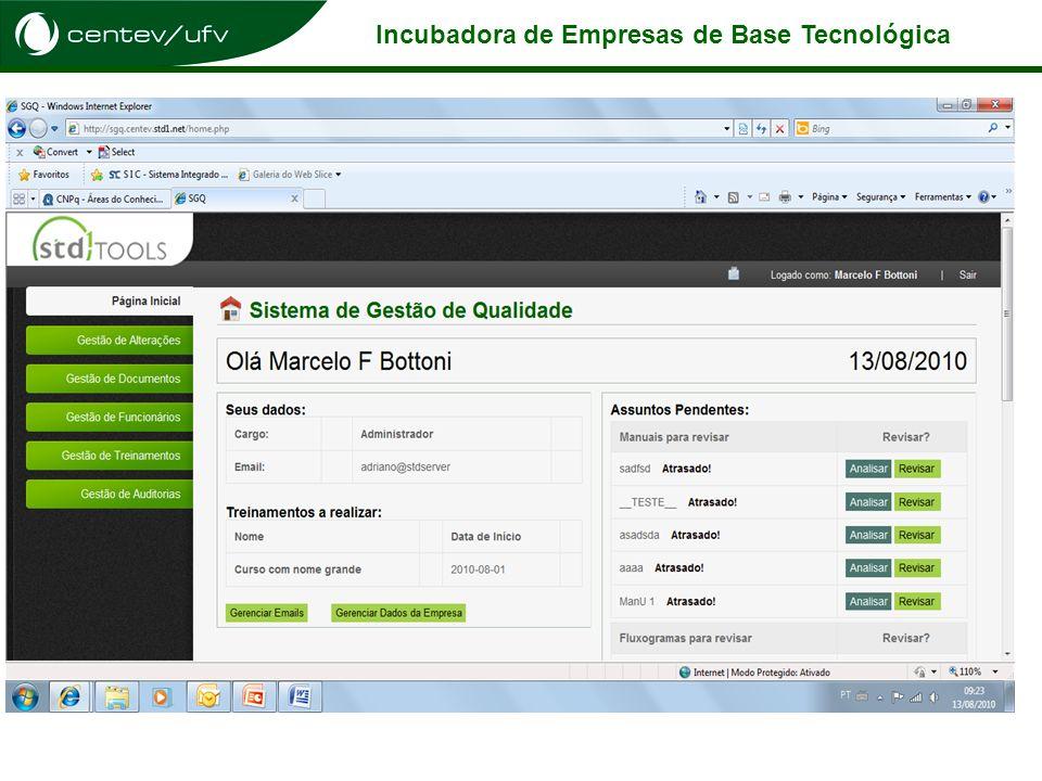 Incubadora de Empresas de Base Tecnológica