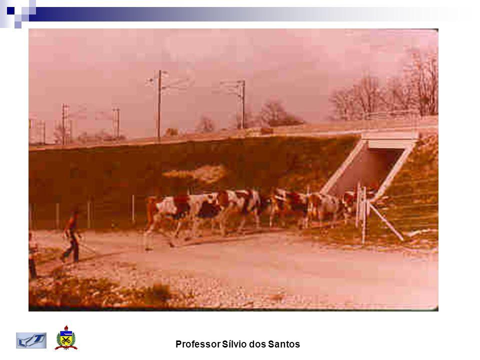 Obras de arte especiais Cruzamento do TGV –Sud-est com a autoestrada A6 Paris-Lyon em Époisses em 26/02/1981 quebrando recorde de velocidade com 380 km/h A via do TGV tem 14m de largura incluindo a plataforma de estação A A6 tem 34 m de largura