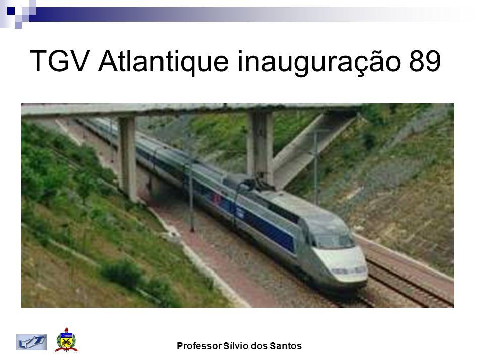 Professor Sílvio dos Santos TGV Atlantique inauguração 89