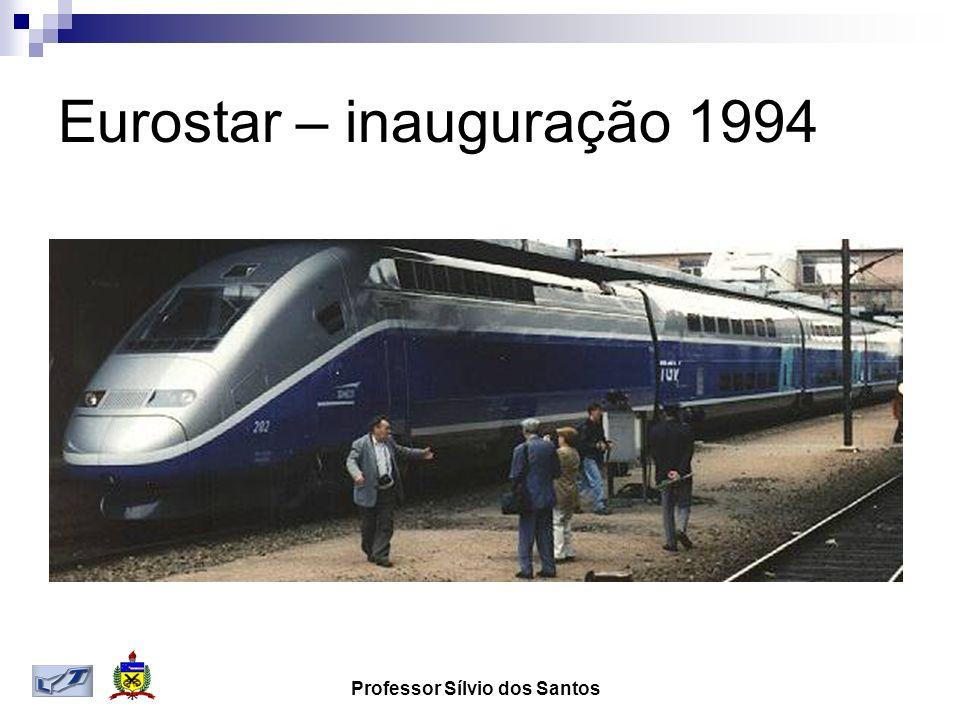 Professor Sílvio dos Santos Eurostar – inauguração 1994