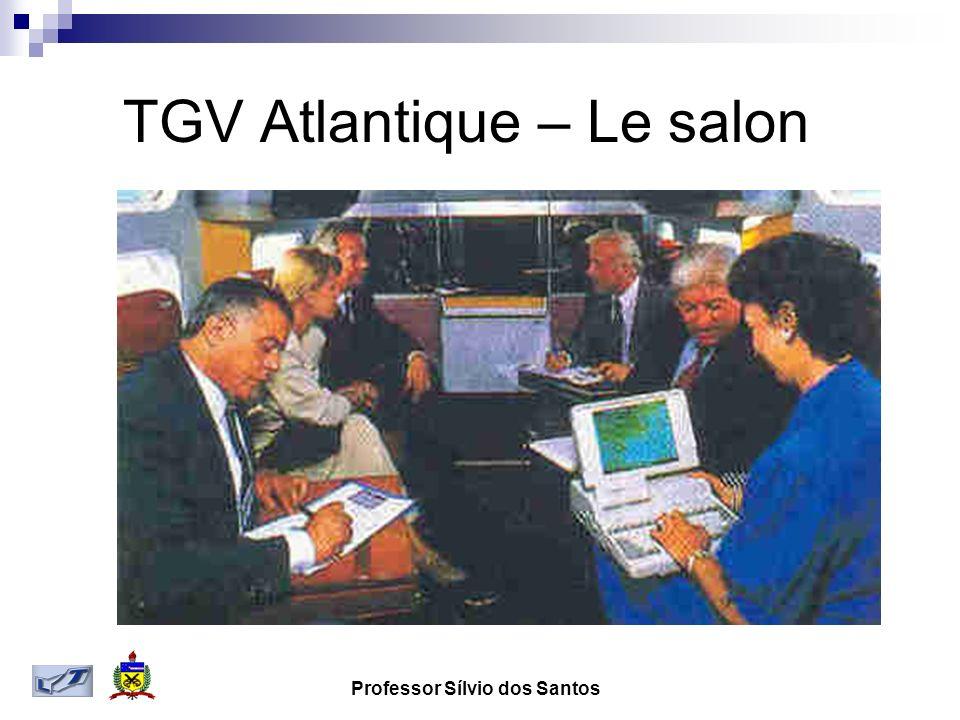 Professor Sílvio dos Santos TGV Atlantique – Le salon