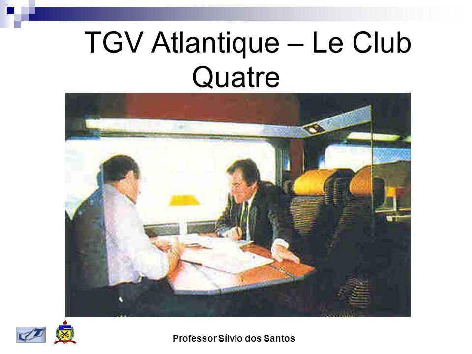 Professor Sílvio dos Santos TGV Atlantique – Le Club Quatre