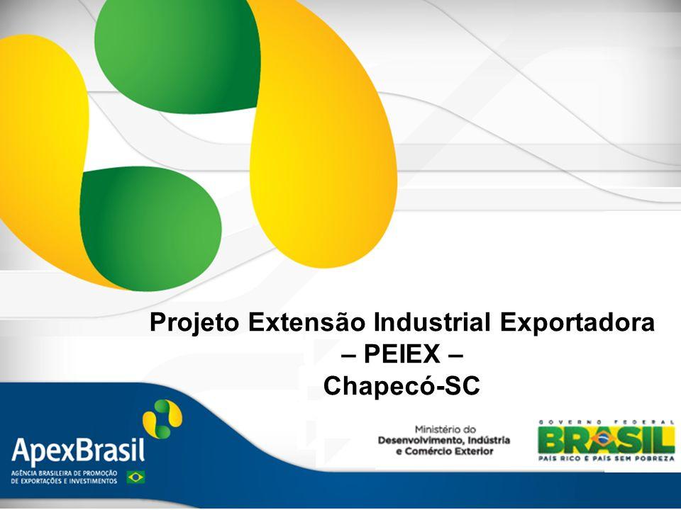 Projeto Extensão Industrial Exportadora – PEIEX – Chapecó-SC