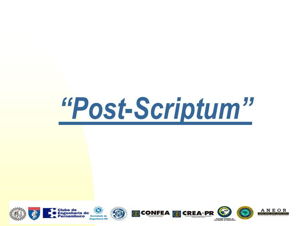 Post - Scriptum