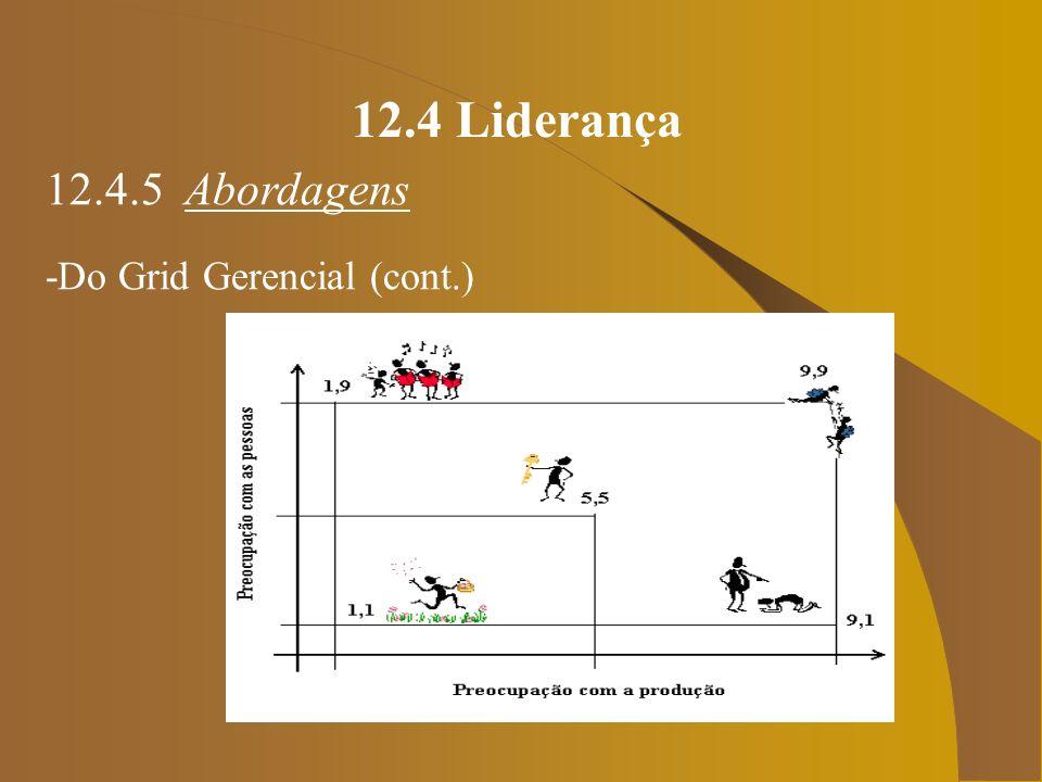 12.4 Liderança 12.4.5 Abordagens Você será capaz de distinguir: poder, autoridade e liderança.