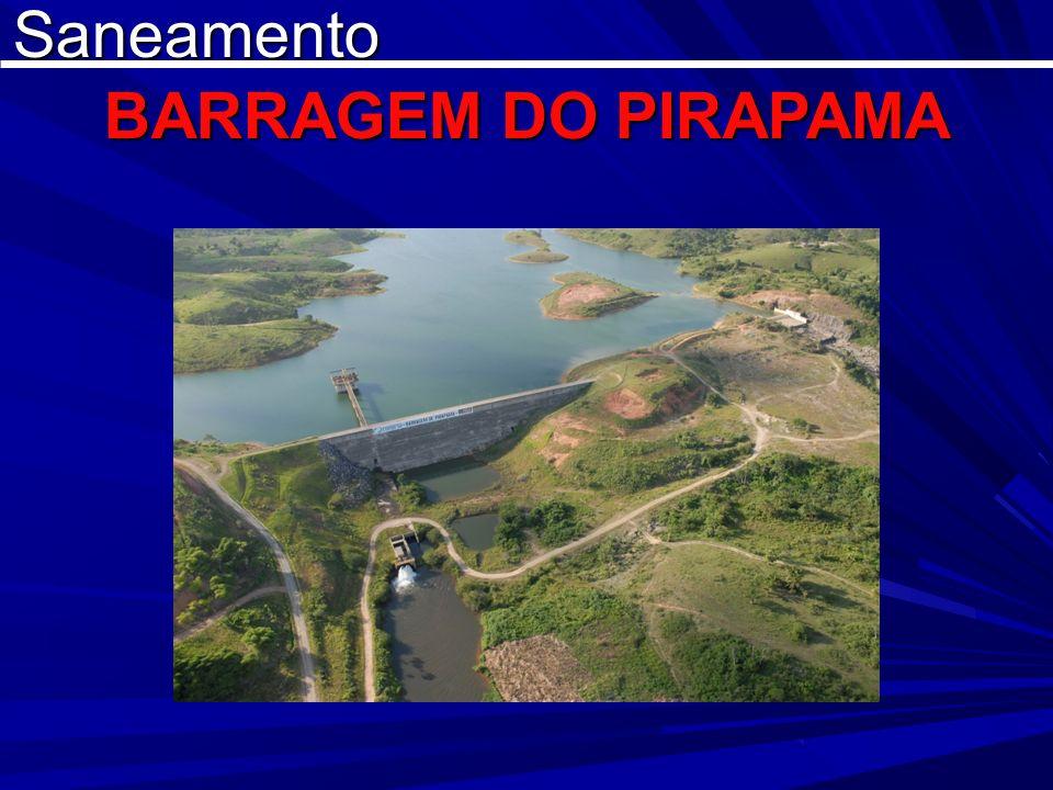 Saneamento BARRAGEM DO PIRAPAMA