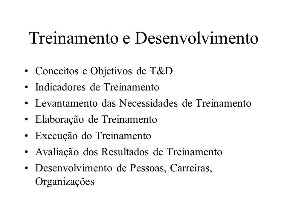 13.8.O sistema de desenvolvimento de carreiras.