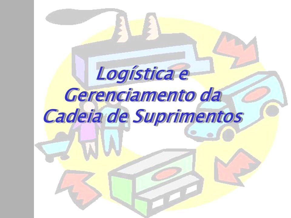 Principais atividades Suprimentos –Transportes –Manutenção de estoques –Processamento de pedidos –Aquisição –Embalagem protetora –Armazenagem –Manuseio de materiais –Manutenção de informações.