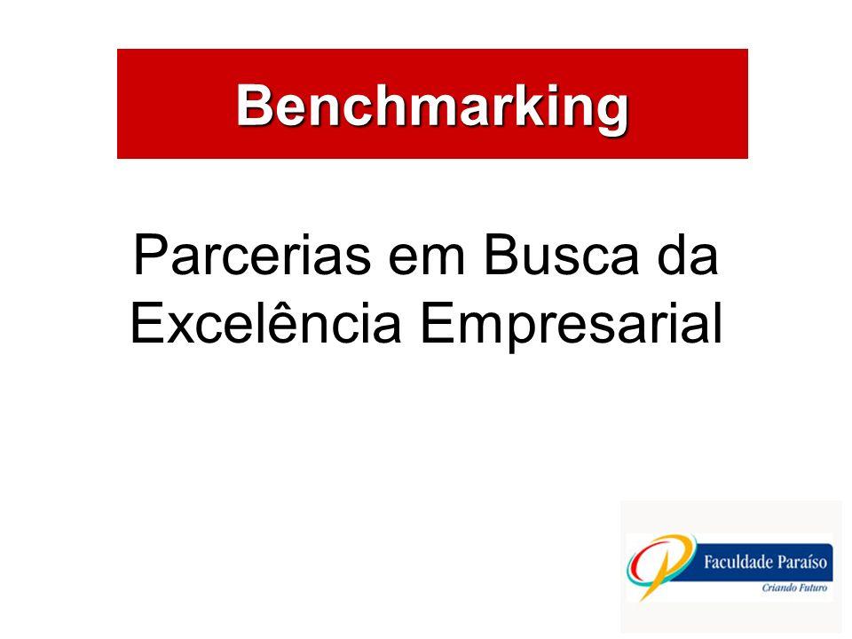 ÁREAS DE ATUAÇÃO Benchmarking Parcerias em Busca da Excelência Empresarial