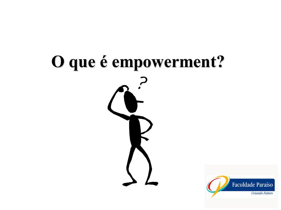 O que é empowerment?