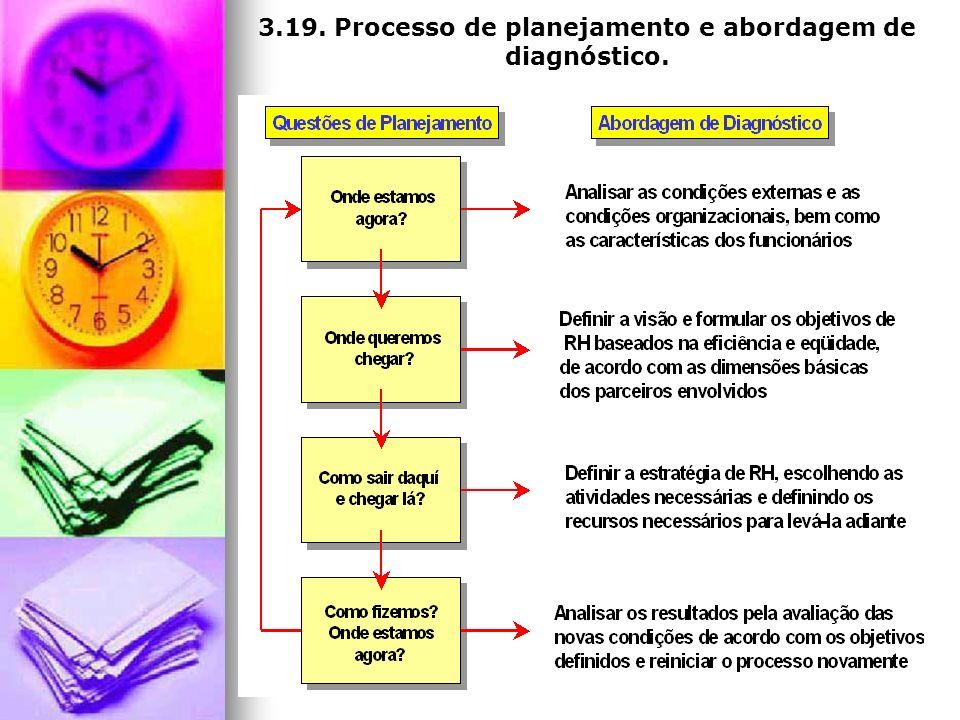 3.19. Processo de planejamento e abordagem de diagnóstico.