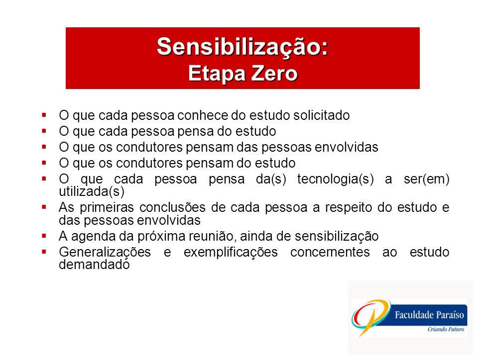 ÁREAS DE ATUAÇÃO As Etapas do Projeto de Estudo Organizacional Fonte: Luís César G. de Araújo