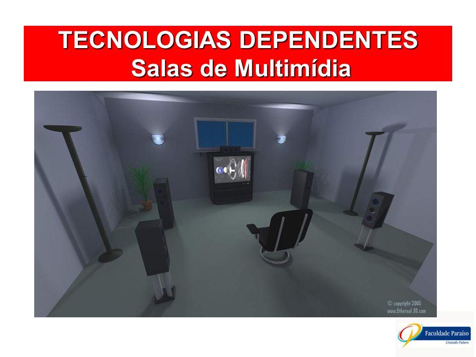 TECNOLOGIAS DEPENDENTES Salas de Multimídia