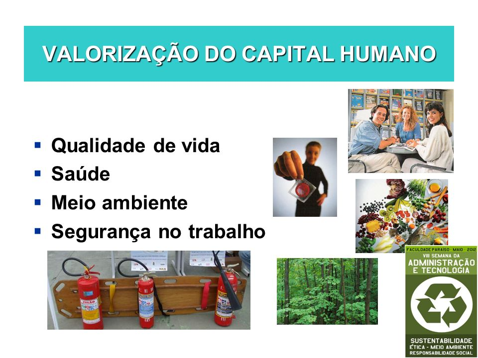 ESTRATÉGIAS DE MARKETING SOCIAL Endomarketing Publicidade Socioambiental Marketing Verde Capital reputacional Empreendedorismo Social