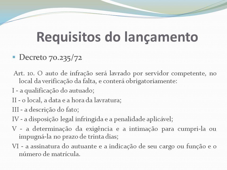 Diligências Decreto 70.235/72 Art.18.