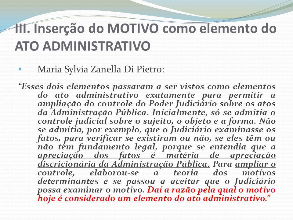 Cinco questões fundamentais 1) O que é MOTIVO do ato administrativo e do LANÇAMENTO e como podemos identificá-lo.