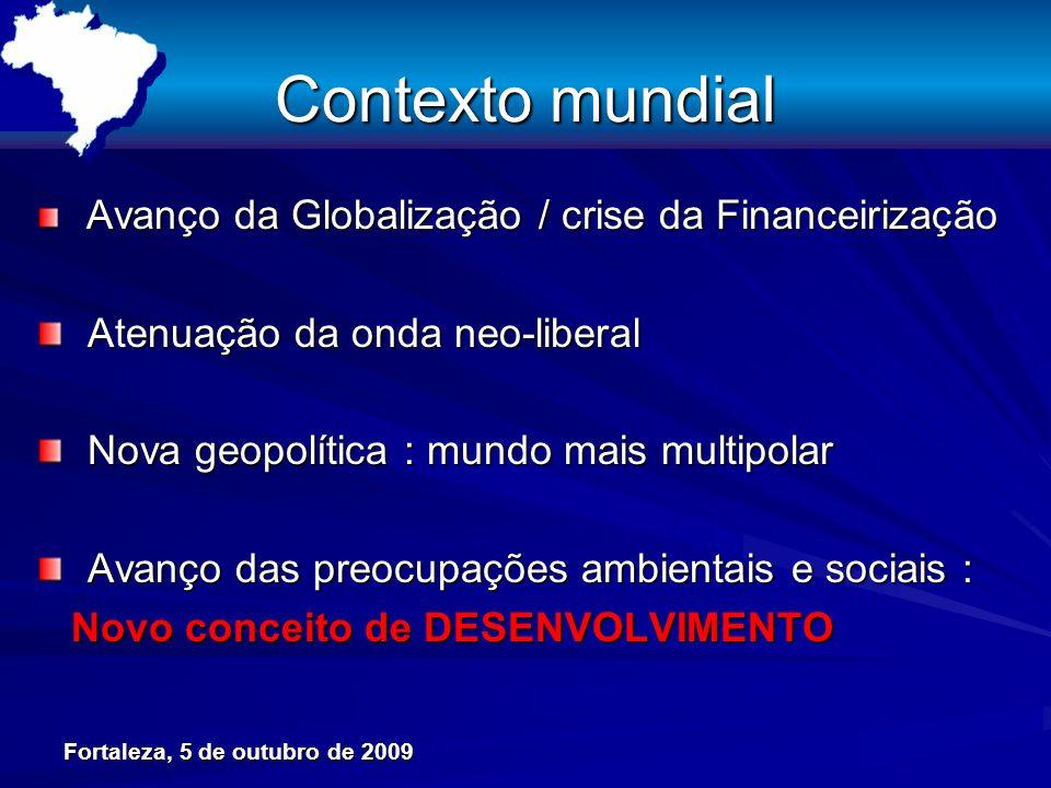 Futuro consolida nova dinâmica agropecuária : Brasil Rural se reafirma REGIÕES NORTENORDESTESUDESTESUL CENTRO- OESTE BRASIL VOLUME FÍSICO* VALOR PROD.