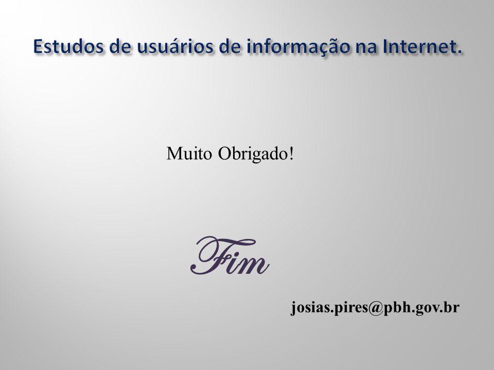 Fim Muito Obrigado! josias.pires@pbh.gov.br