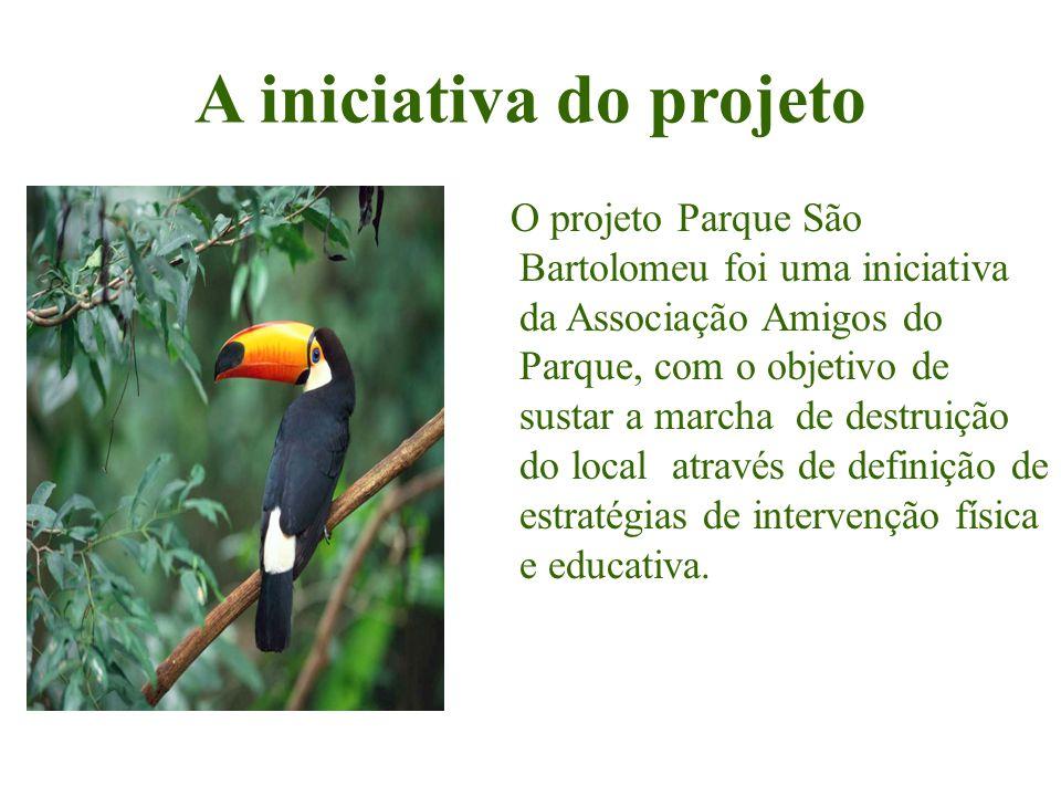 A iniciativa do projeto O projeto Parque São Bartolomeu foi uma iniciativa da Associação Amigos do Parque, com o objetivo de sustar a marcha de destru