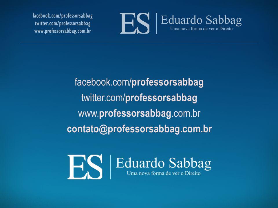 facebook.com/ professorsabbag twitter.com/ professorsabbag www. professorsabbag.com.br contato@professorsabbag.com.br