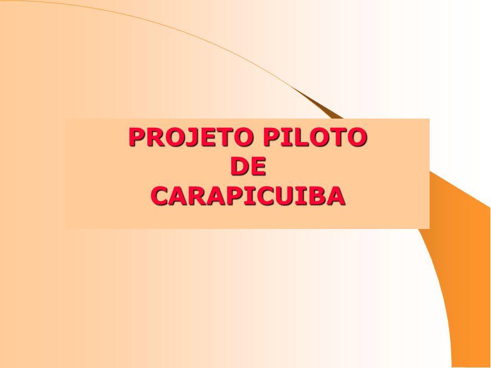 PROJETO PILOTO DECARAPICUIBA